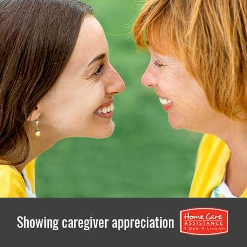 How to Show Appreciation for Your Senior Loved One's Caregiver in Waterloo, CAN