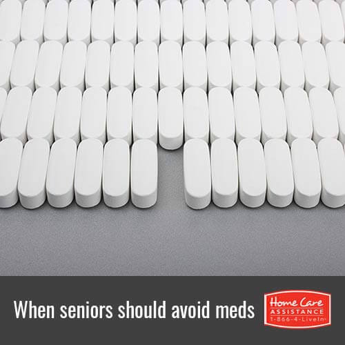 4 Situations Where Waterloo, CAN Seniors Should Avoid Medications