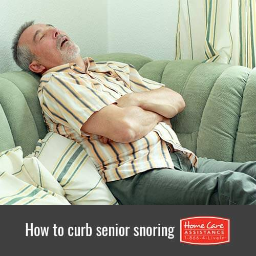 How to Stop Seniors from Snoring in Waterloo, CAN