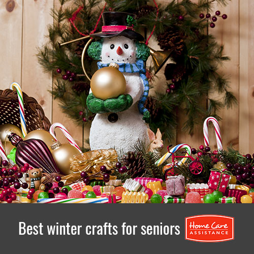 Winter Crafts for Seniors in Waterloo, ON, Canada